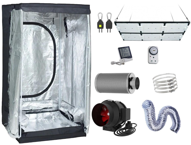 120 x 120 cm, 600W LED/UV Board