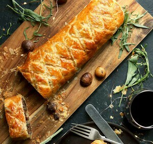 Cauliflower Steak en Croute