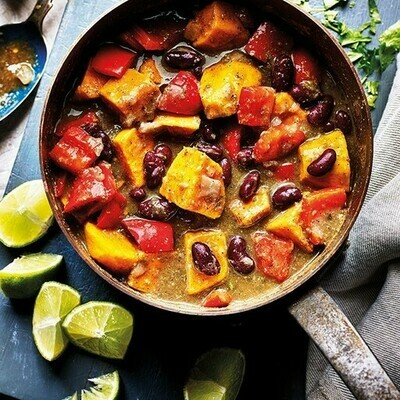 Jerk-Style Sweet Potato Curry