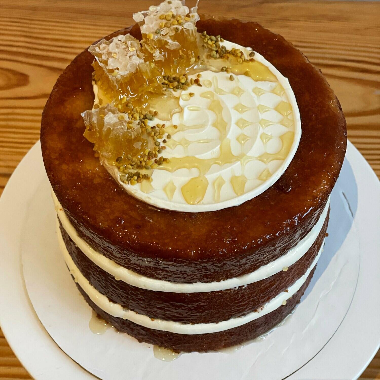 Honey-Lavender Cake, 6-inch