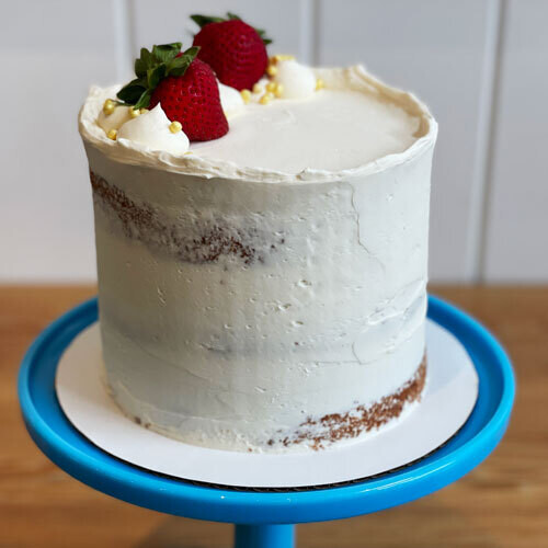 Strawberry Shortcake Cake, 6-inch