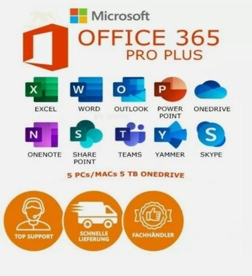 Microsoft Office 365 Account 5 Devices