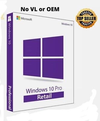 MICROSOFT WINDOWS 10 PRO  Only