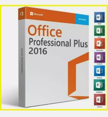 MS®Office®2016 professional plus   32/64   key and License