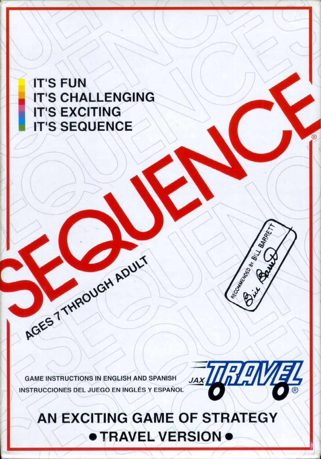 Travel Sequence