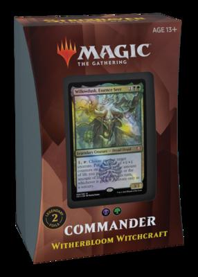 MTG - Strixhaven - Witherbloom Witchcraft Commander