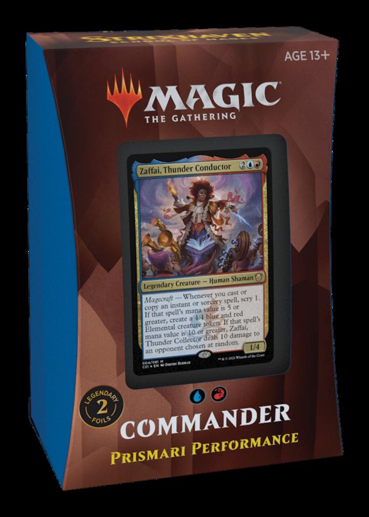 MTG - Strixhaven - Prismari Performance Commander