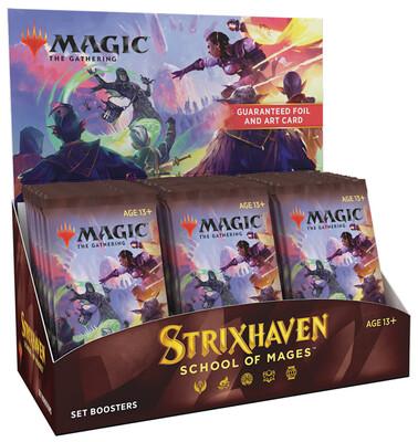 MTG - Strixhaven - Set Booster Box