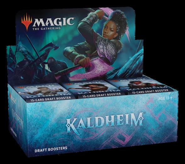 MTG - Kaldheim - Draft Booster Box