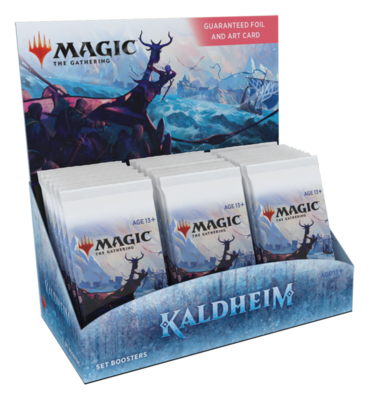 MTG - Kaldheim - Set Booster Box