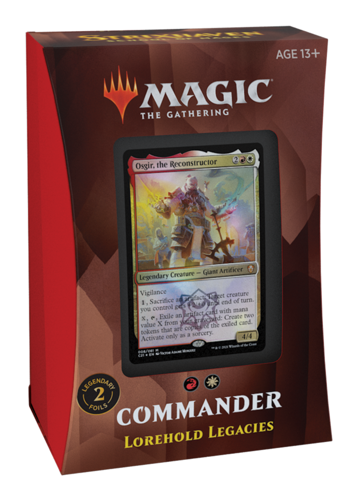 MTG - Strixhaven - Lorehold Legacies Commander