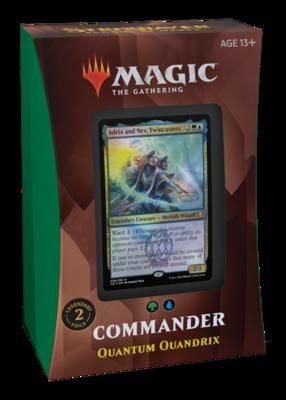 MTG - Strixhaven - Quantum Quandrix Commander