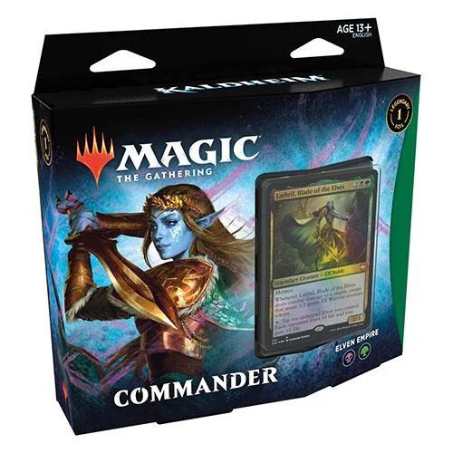 MTG - Kaldheim - Elven Empire Commander