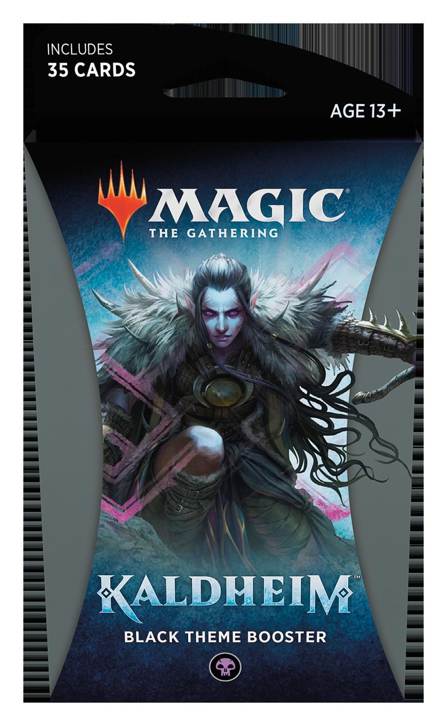 MTG - Kaldheim - Black Theme Booster