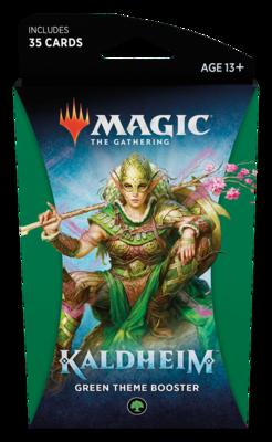 MTG - Kaldheim - Green Theme Booster