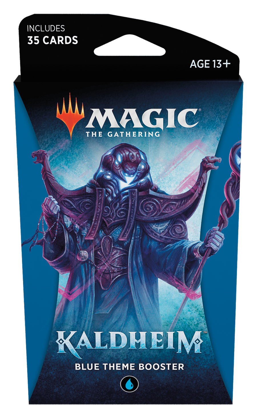 MTG - Kaldheim - Blue Theme Booster