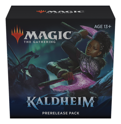 MTG - Kaldheim - Prerelease Pack - With Additional 2 Packs
