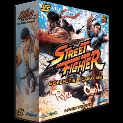 UFS - Street Fighter 2-Player Turbo Box (Ryu & Chun-Li)