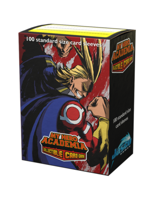 UniVersus - My Hero Academia - 100 (All Might) Standard Size Card Sleeves