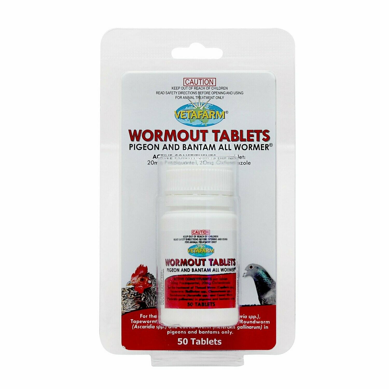 Vetafarm Wormout Tablets 50