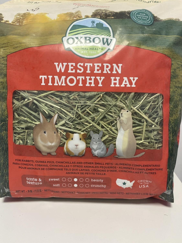Oxbow Western Timothy Hay 1.13kg