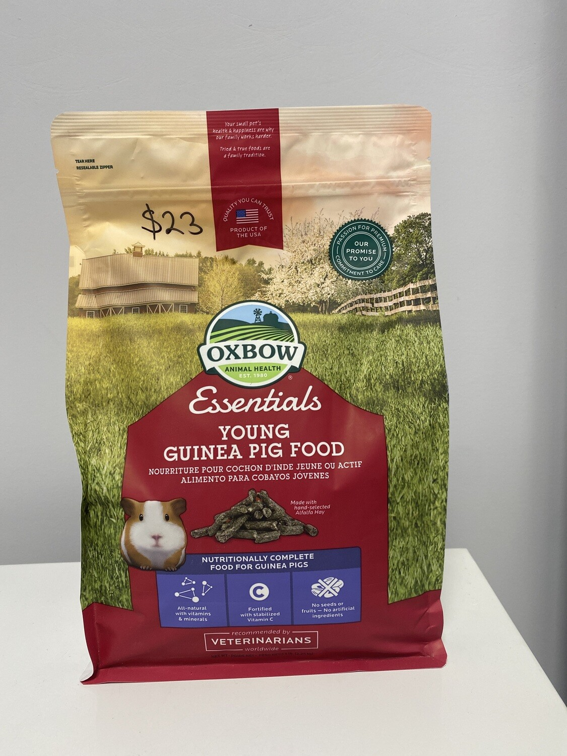 Oxbow Young Guinea Pig Food 2.25kg