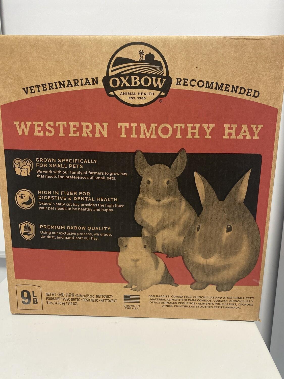 Oxbow Western Timothy Hay 9lb