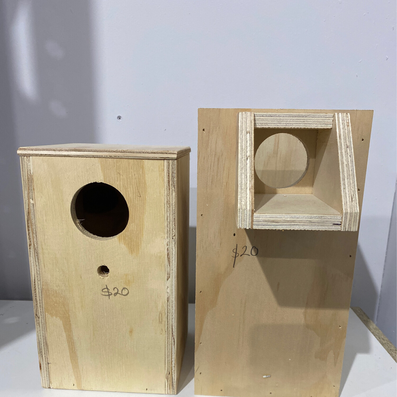 Nest Box Love Bird Ply