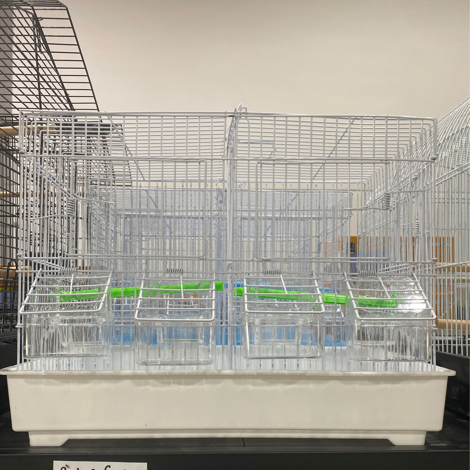 Budgie Cage With Divider