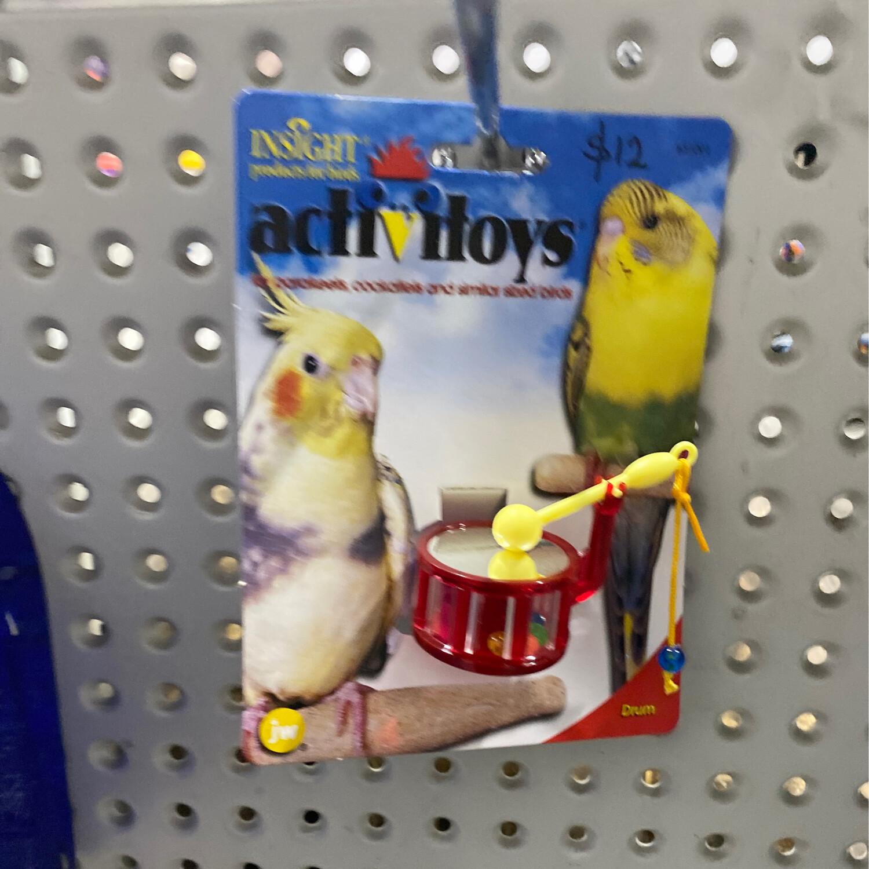 JW Insight Bird Toy Drum