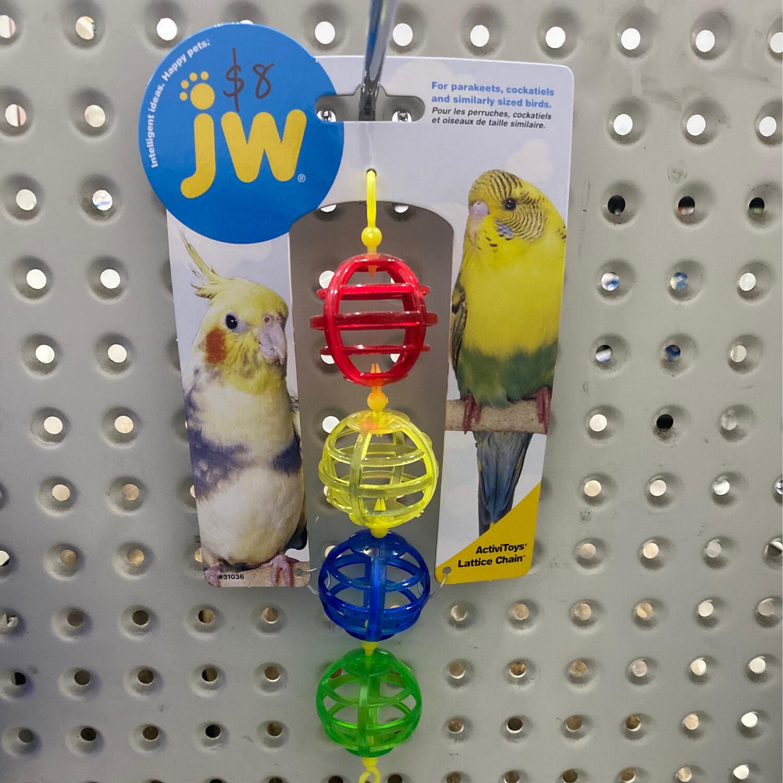 JW Insight Bird Toy Lattice Chain