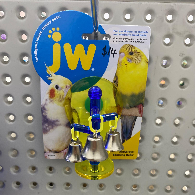 JW Insight Bird Toy Spinning Bells