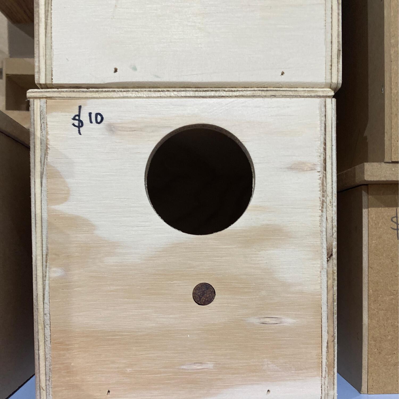 Nest Box Ply Budgie