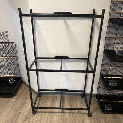"""30"""" 3 Tier Cage Stand 4163"""