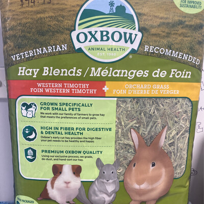 Oxbow Western Timothy + Orchard Grass 2.55kg