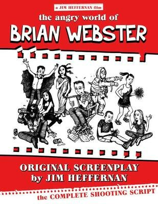 """Autographed """"Angry World of Brian Webster"""" Screenplay"""