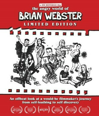 """""""Angry World of Brian Webster"""" Limited Edition Blu-Ray (Pre-Order)"""
