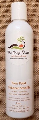 Liquid Soap - Tom Ford Tobacco Vanille for Men Type