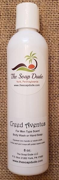 Liquid Soap - Creed Aventus for Men Type