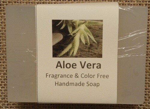 Aloe Vera - Fragrance and Color Free