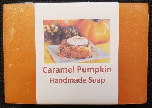 Handmade Soap - Caramel Pumpkin