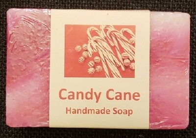 Handmade Soap - Candy Cane