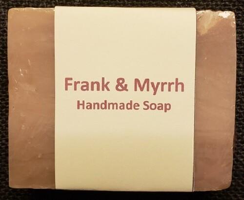 Handmade Soap - Frank & Myrrh