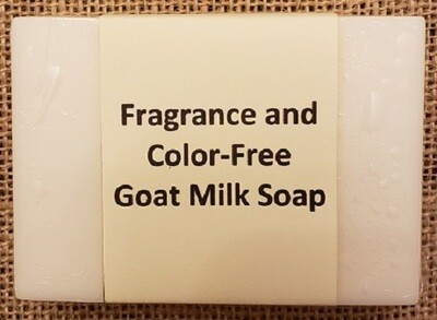 Goat Milk - Fragrance and Color-Free