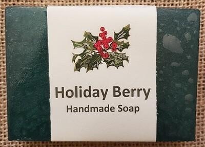 Handmade Soap - Holiday Berry