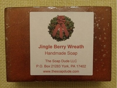 Handmade Soap - Jingle Berry Wreath