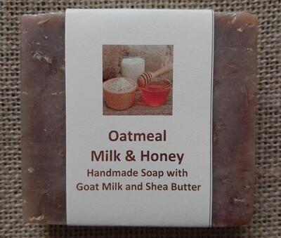 Oatmeal, Goats Milk and Honey