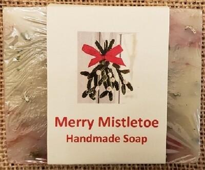 Handmade Soap - Merry Mistletoe
