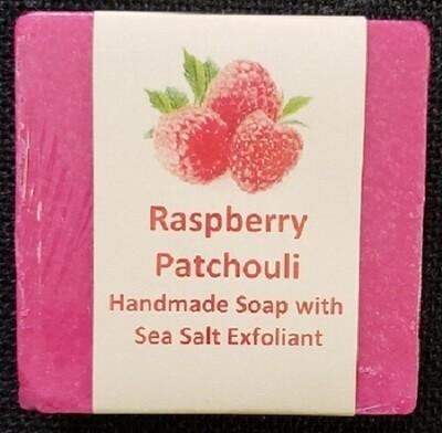 Raspberry Patchouli with Sea Salt