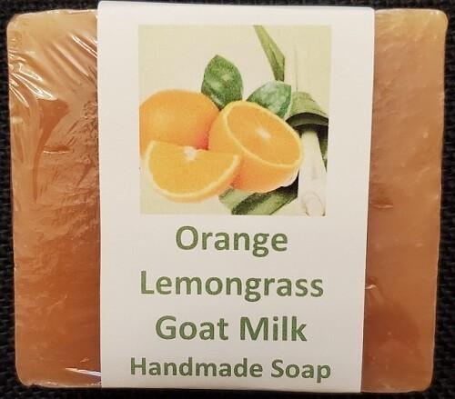 Orange Lemongrass Goat Milk